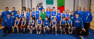 Swinford Boxing Club Exibition - Group Photo 29 March 2013